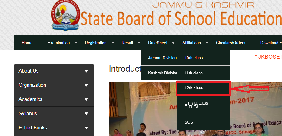 How to Check JKBOSE Class 12 Result