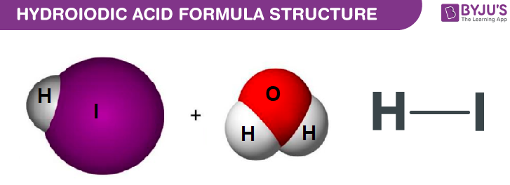 Hydroiodic Acid Structure