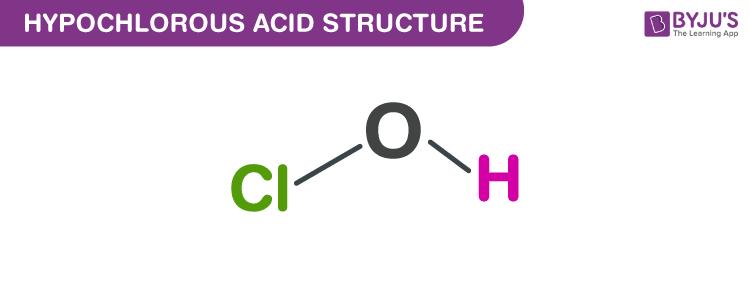 Hypochlorous Acid structure