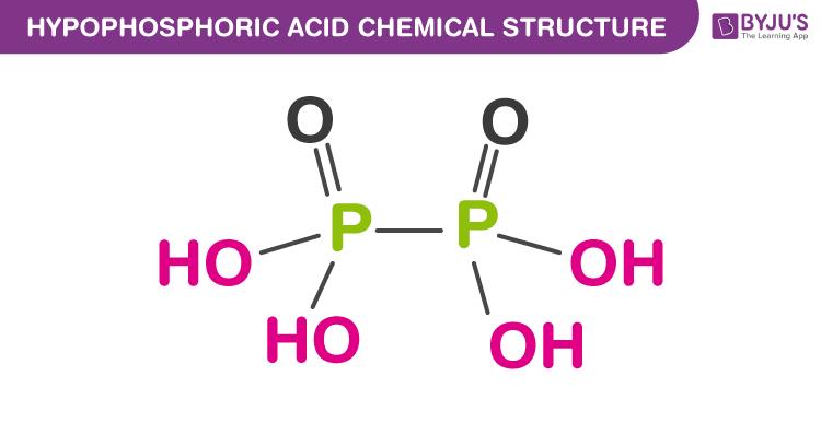 Hypophosphoric Acid Formula