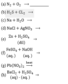 ICSE Class 8 Chemistry Selina Solutions Chapter 6- 12