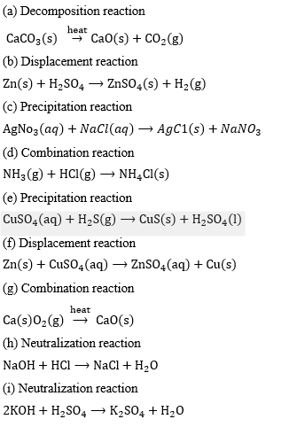 ICSE Class 8 Chemistry Selina Solutions Chapter 6- 15