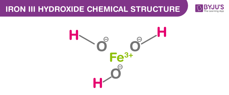 Iron III Hydroxide Formula