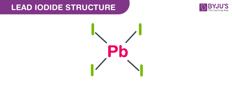 Lead iodide structure
