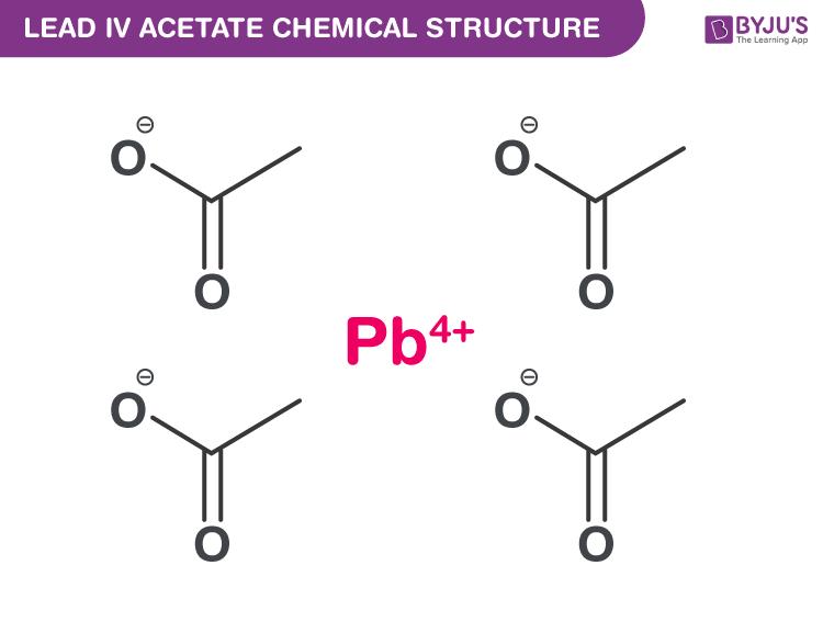 Lead (IV) Acetate Formula