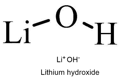 Lithium hydroxide structure