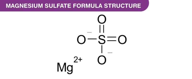 Magnesium Sulfate Formula
