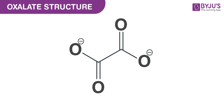 Oxalate structure