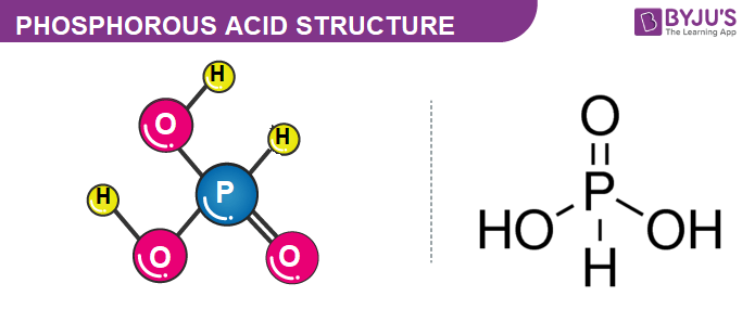 Phosphorous Acid Structure