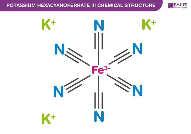 Potassium Hexacyanoferrate II Formula