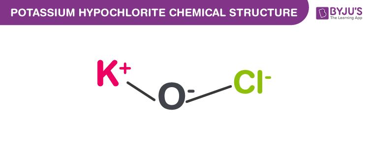 Potassium Hypochlorite Formula