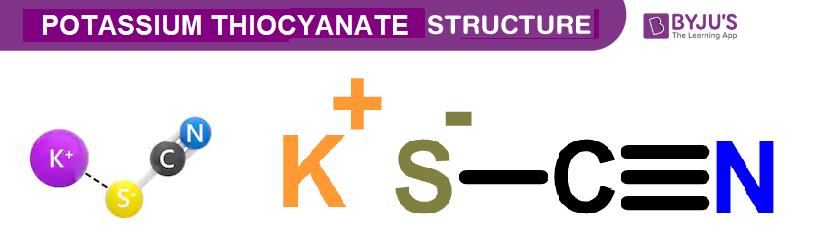 Potassium Thiocyanate Structure