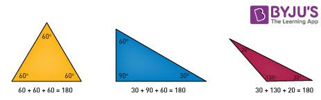 Mensuration Formula for Right Angle Triangle