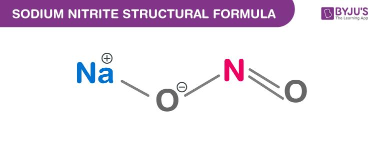 Sodium Nitrite Formula