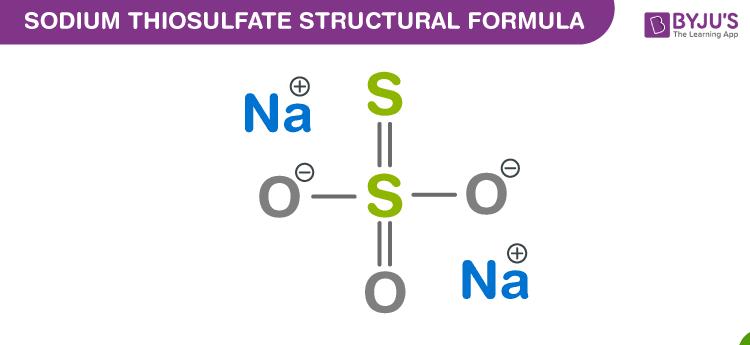 Sodium Thiosulfate Formula