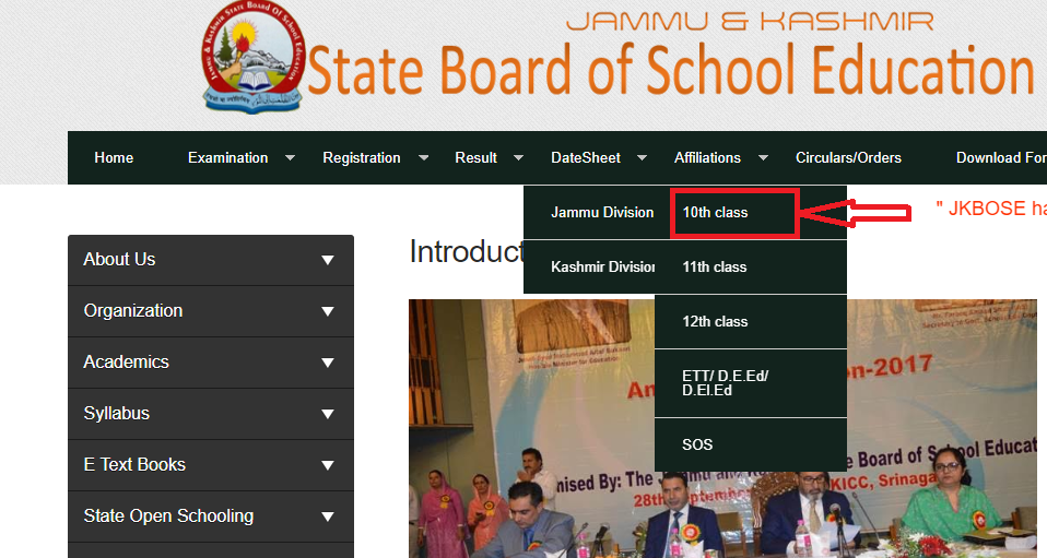 Steps to Check Class 10th JK Board Result