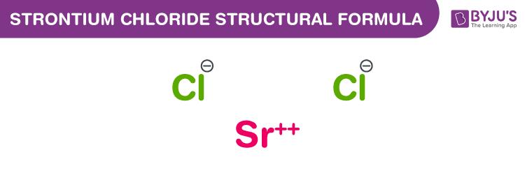 Strontium Chloride Formula