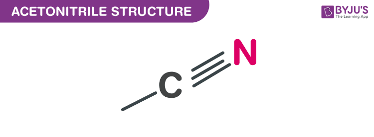 Structure of Acetonitrile