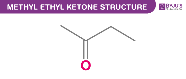 Structure Of Methyl Ethyl Ketone