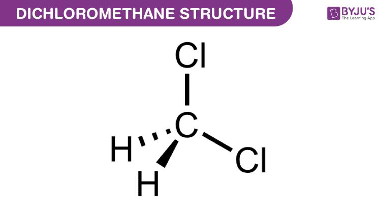 Structure of Dichloromethane
