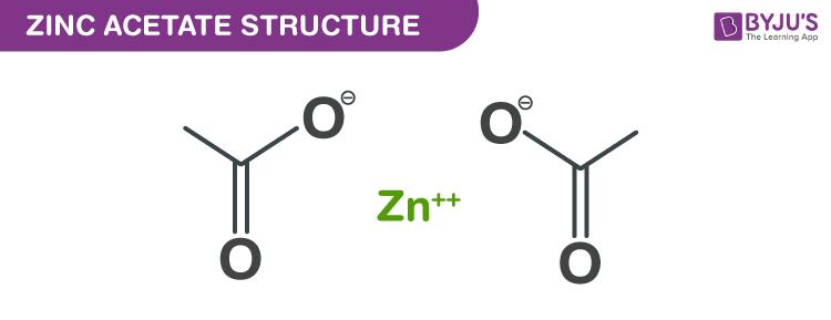 Zinc acetate structure