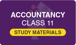Accountancy Study Material Class 11