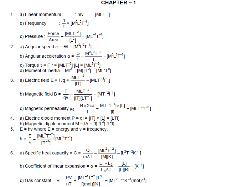 HC Verma Chapter 1 Solutions