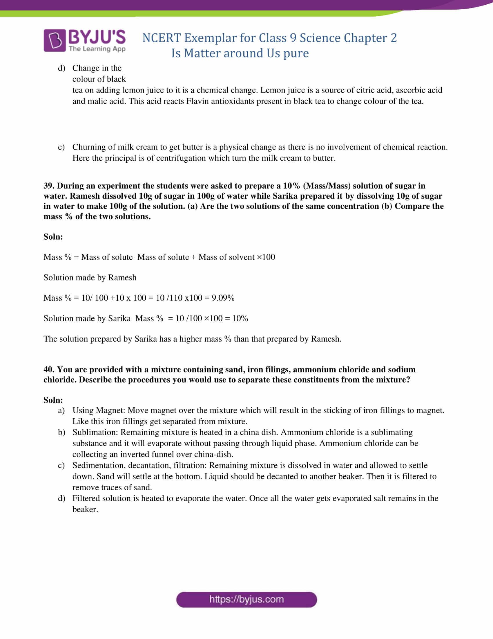 NCERT Exemplar solution class 9 Chapter 2 Part 17