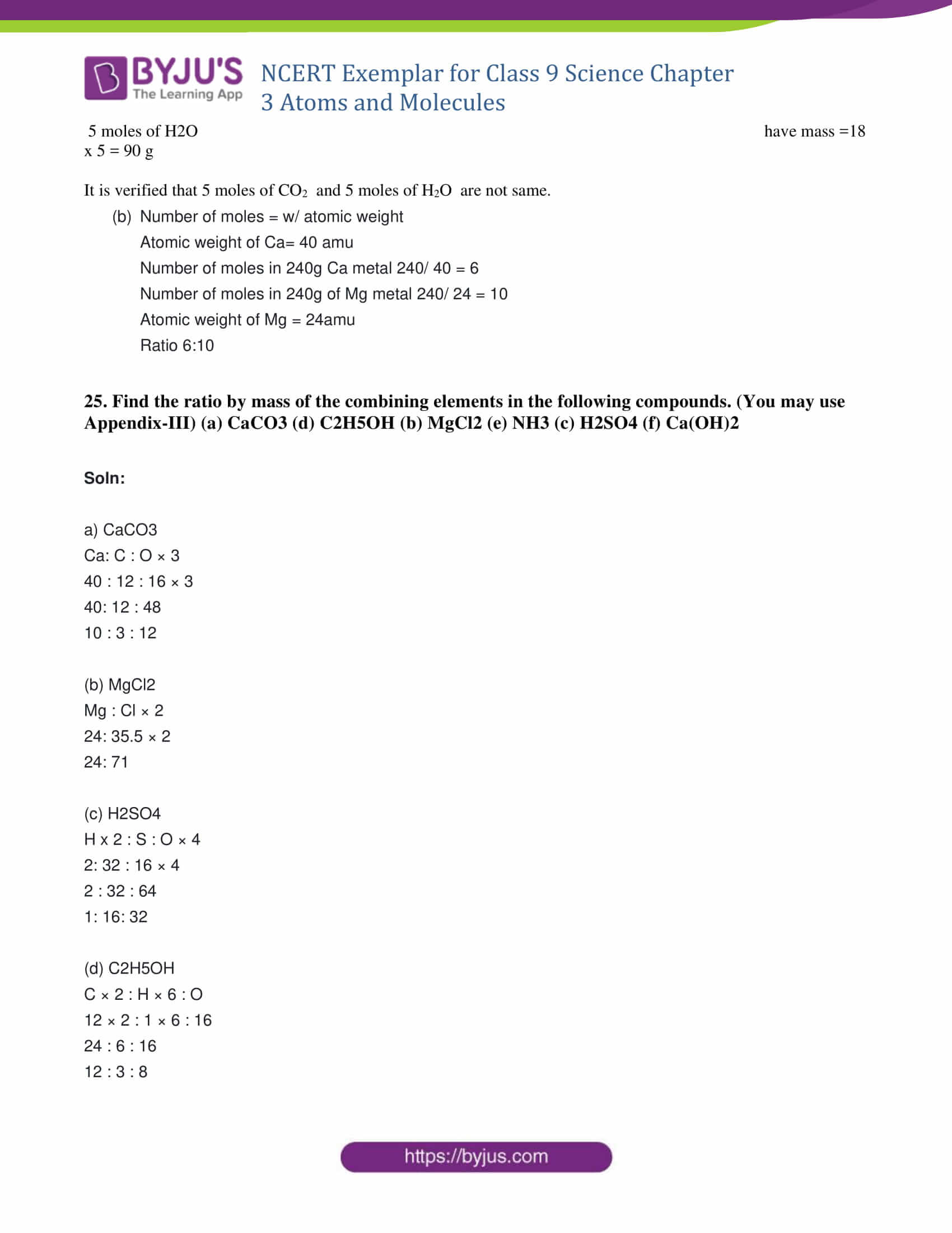 NCERT Exemplar solution class 9 Chapter 3 Part 10