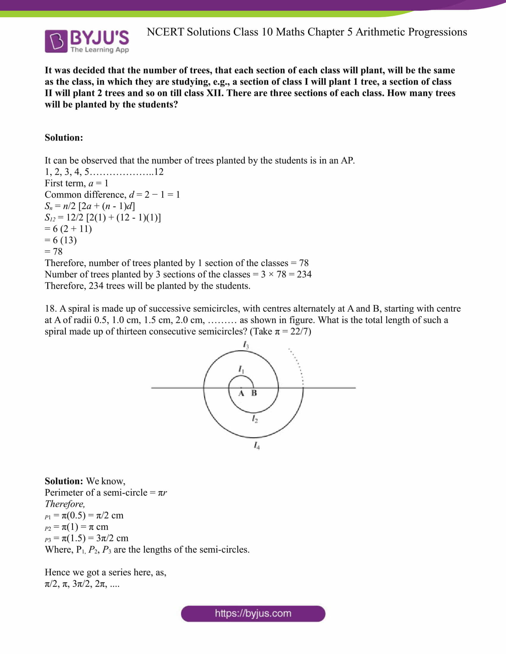 NCERT Solution for CBSE class 10 Maths Chapter 5 Arithmetic Progressions Excercise 5.3 Part 15