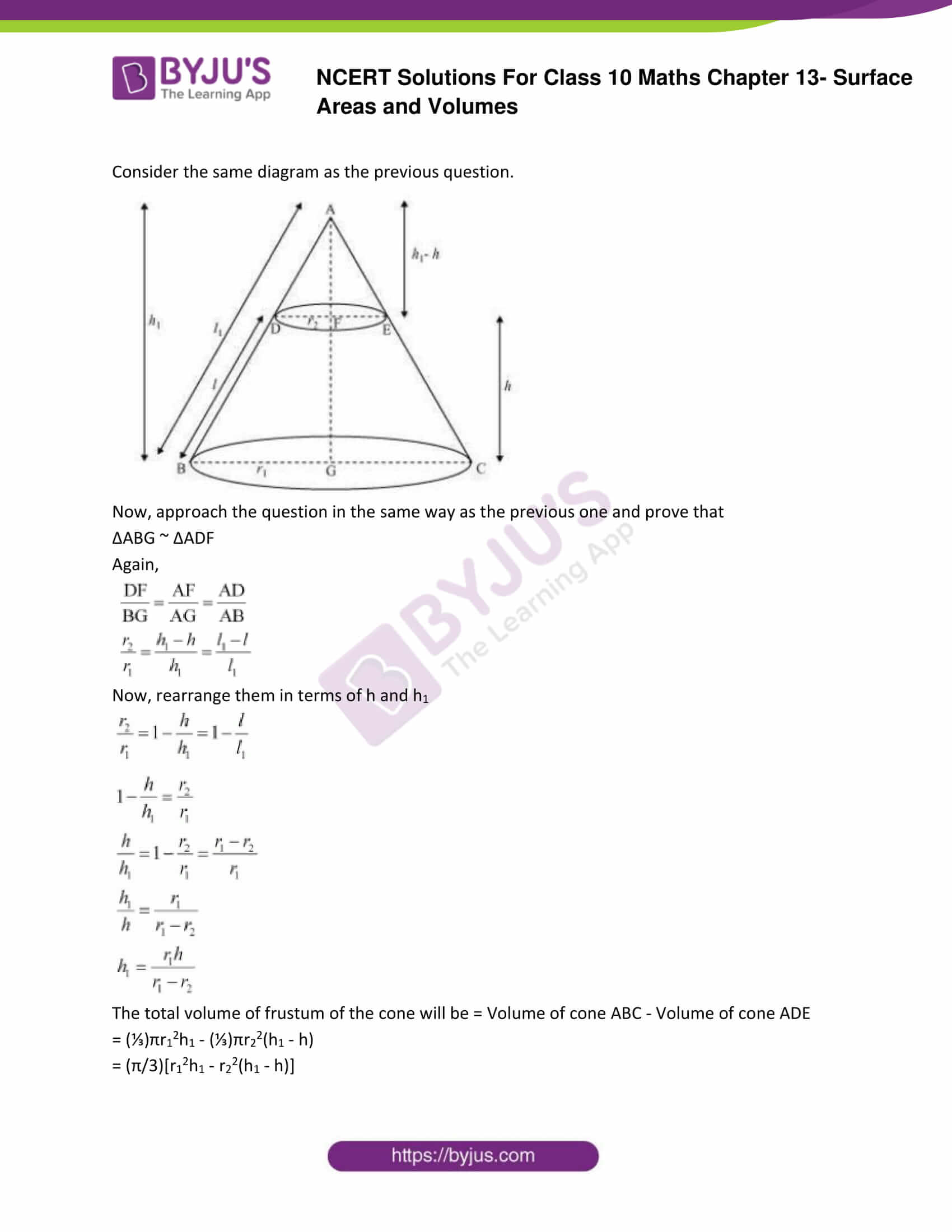 NCERT Solutions Class 10 Maths Chapter 13 Surface Areas and Volumes Part 30