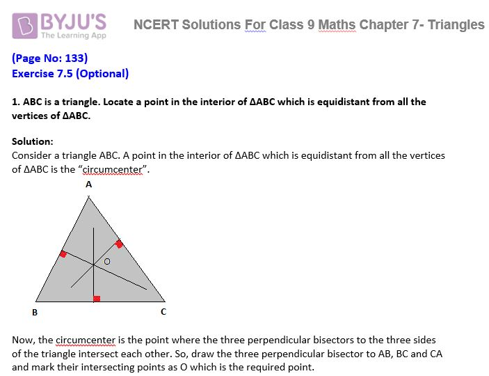 ncert solutions for class 10 maths chapter 15 optional exercise