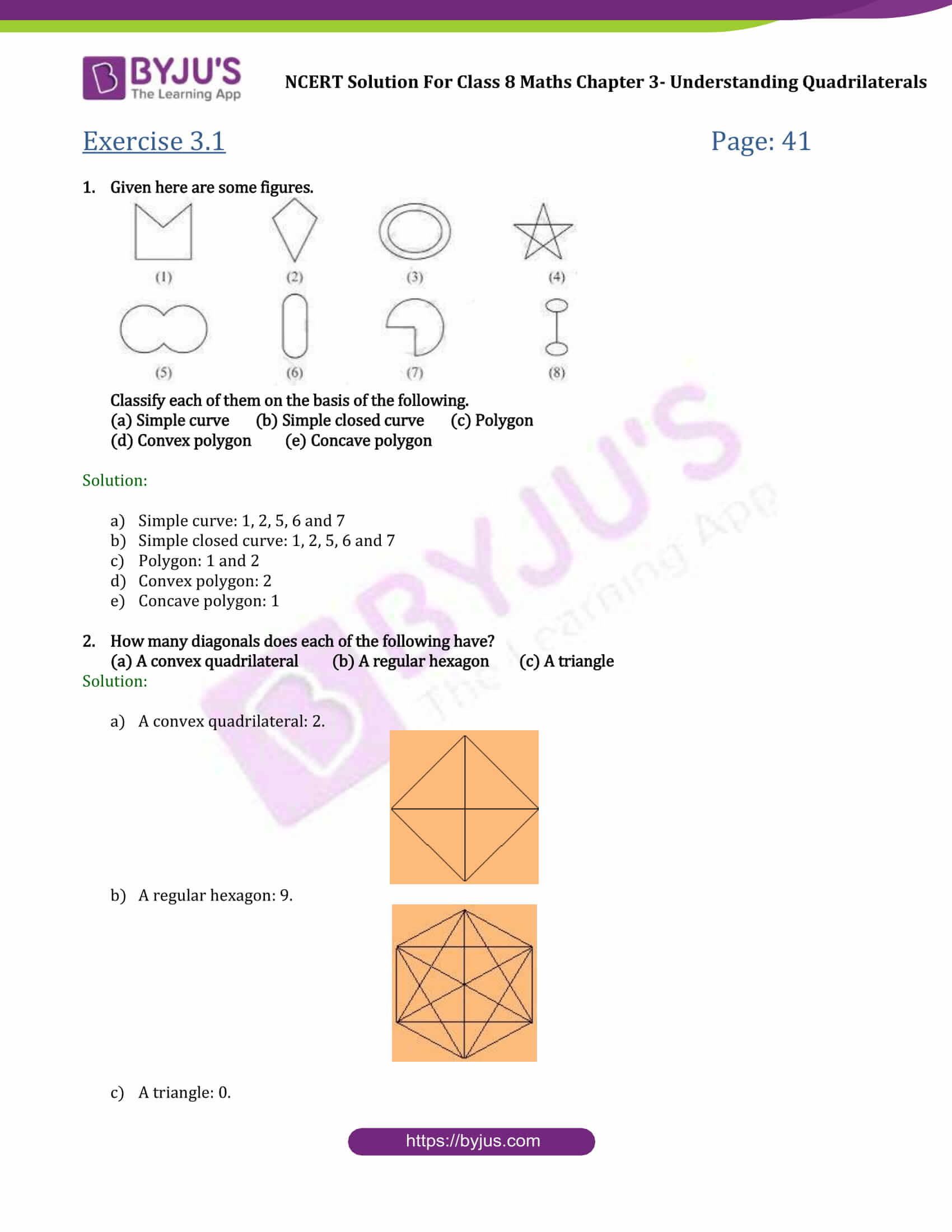 NCERT Solutions Class 8 Maths Chapter 3 Understanding