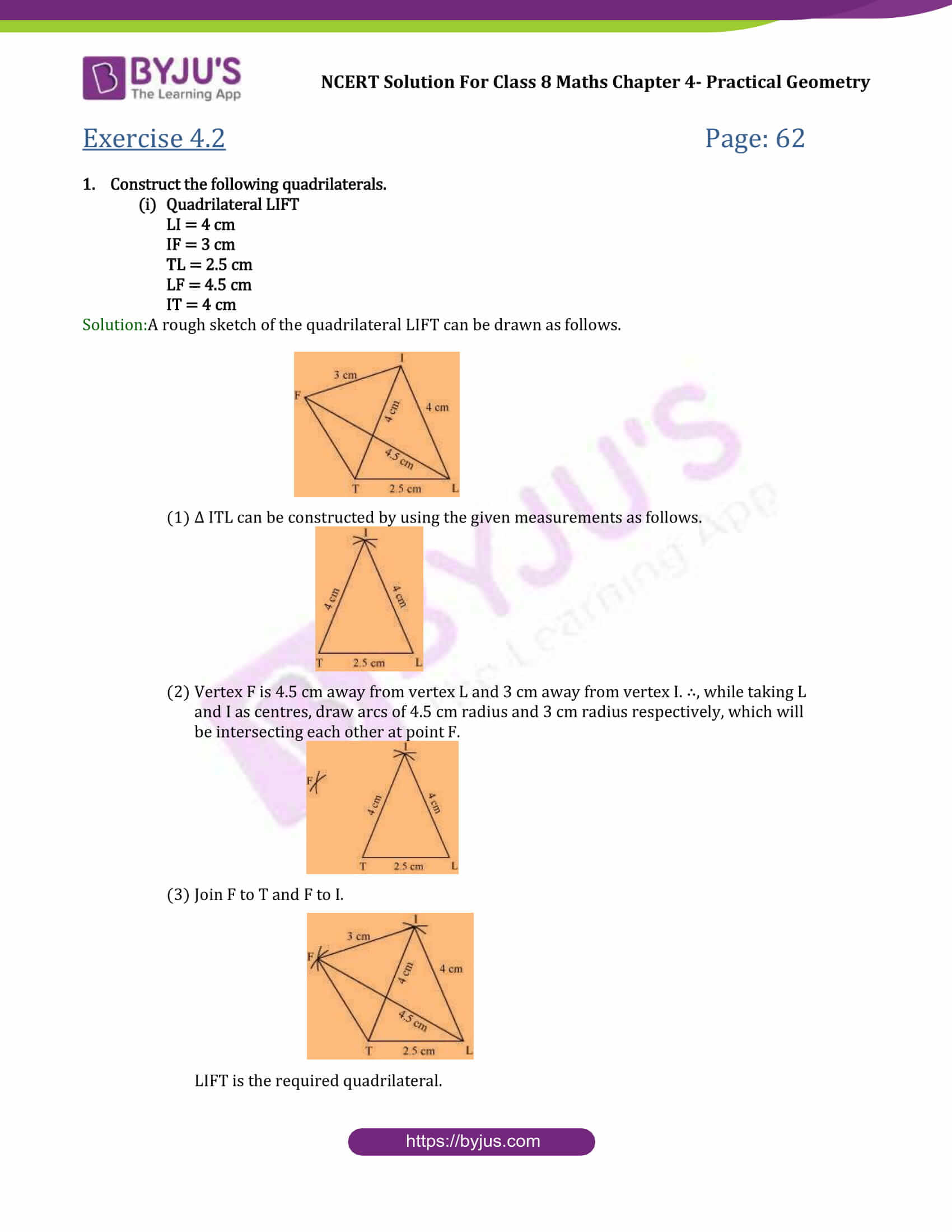 NCERT Solutions for Class 8 Maths Chapter 4 Applied ...