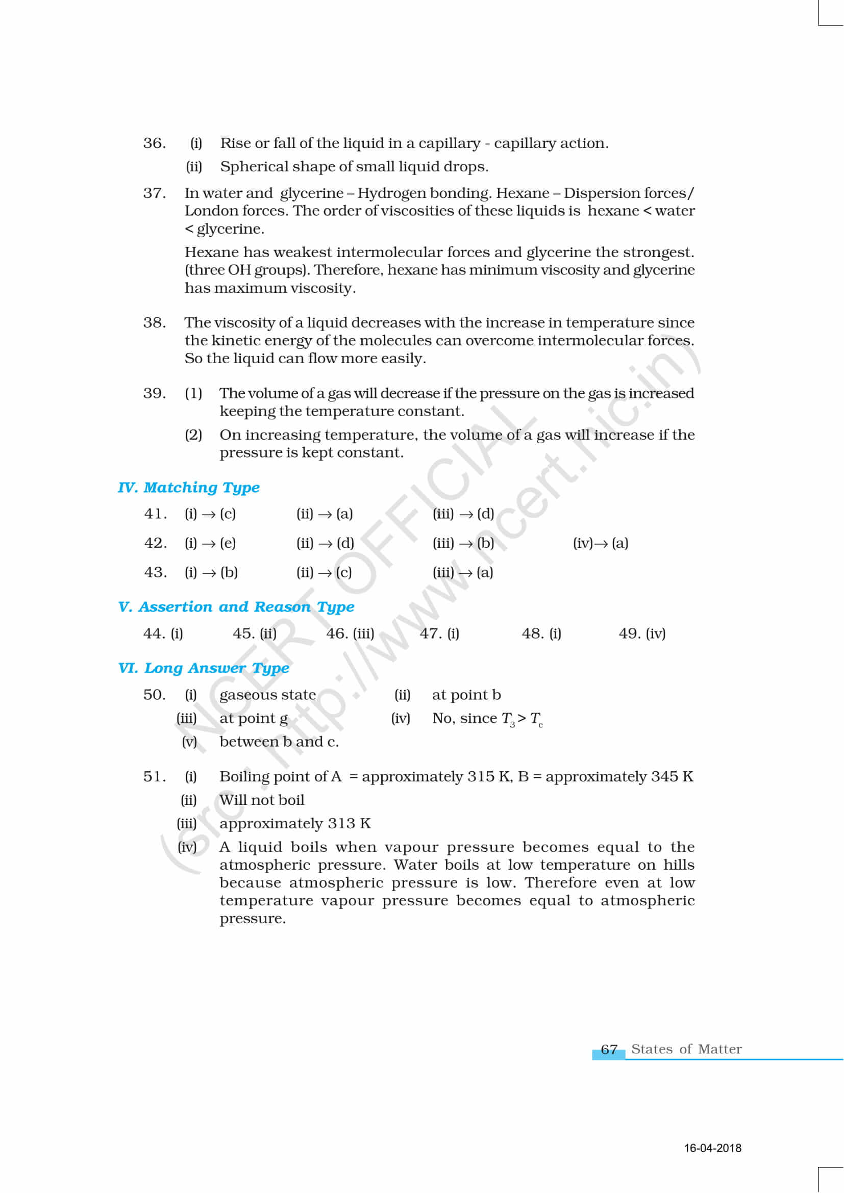 JEE Main 2019 Chemistry (January) Chapter wise Questions ...