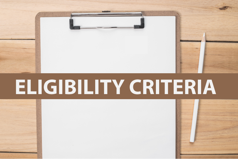 eligibility criteria for gre test