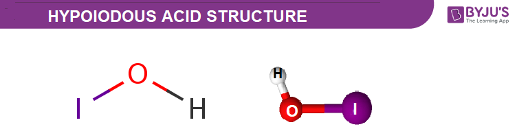 Hypoiodous Acid Structure