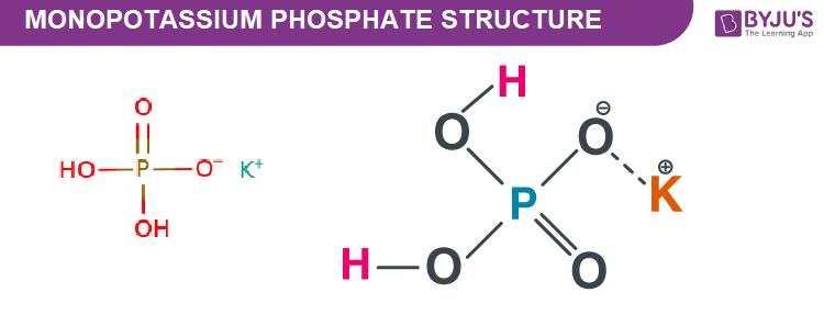 Monopotassium Phosphate Structure