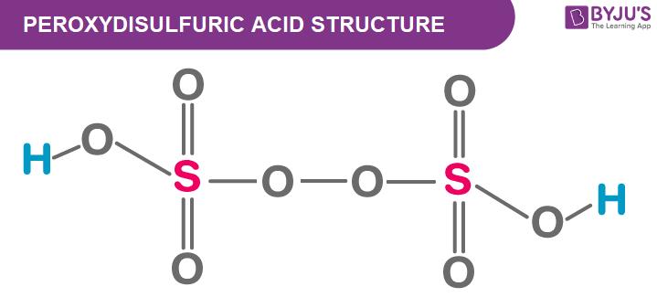 Peroxydisulfuric Acid Structure