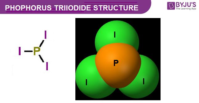 Phosphorus Triiodide Structure