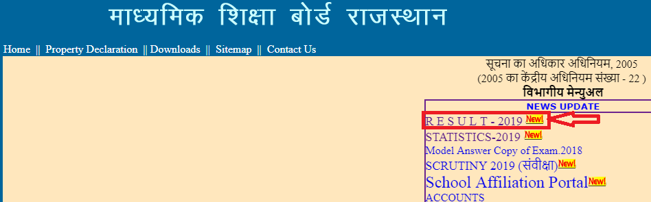 RBSE Class 12 Result 2019