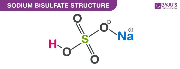 Structure of Sodium bisulfate