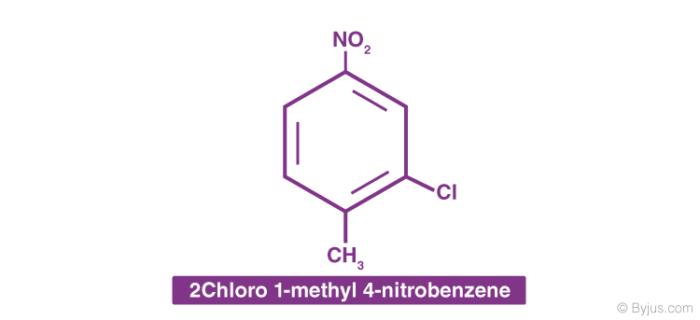 2 Chloro 1-methyl 4-nitrobenzene