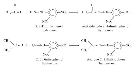 2,4-Dinitrophenyl Hydrazine Test