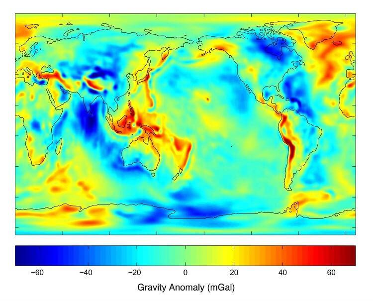 Gravity Map