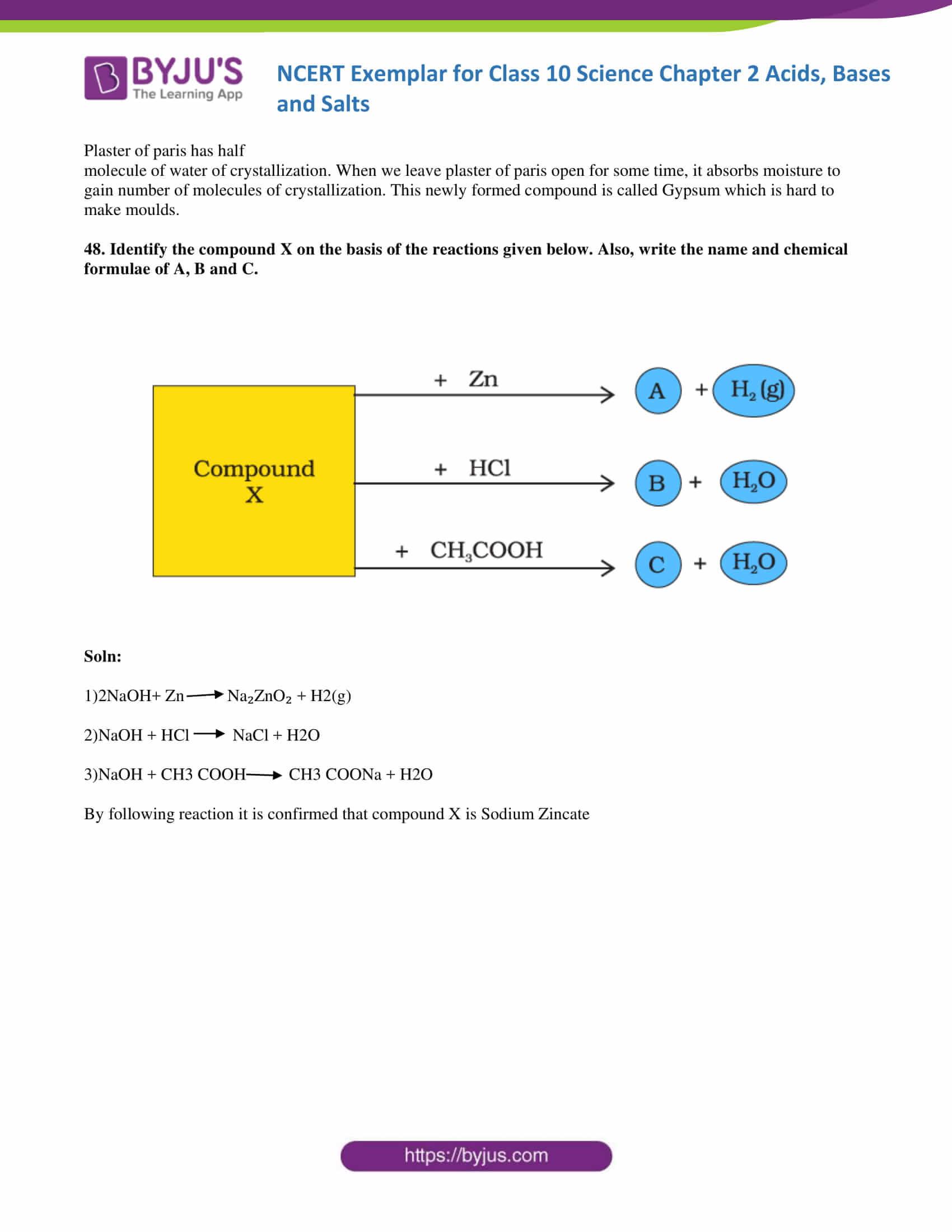 NCERT Exemplar solution class 10 Science Chapter 2 part 17