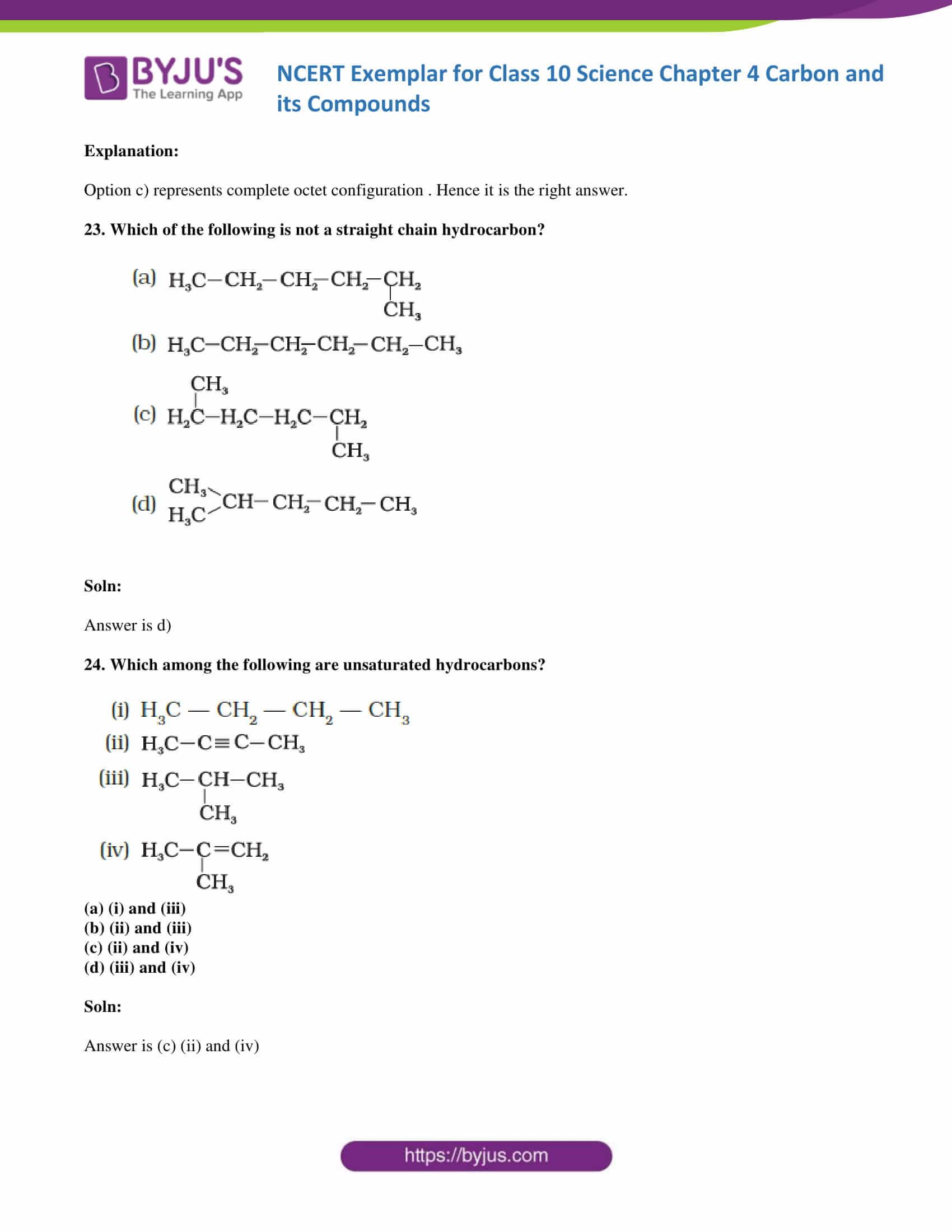 NCERT Exemplar solution class 10 Science Chapter 4 part 09