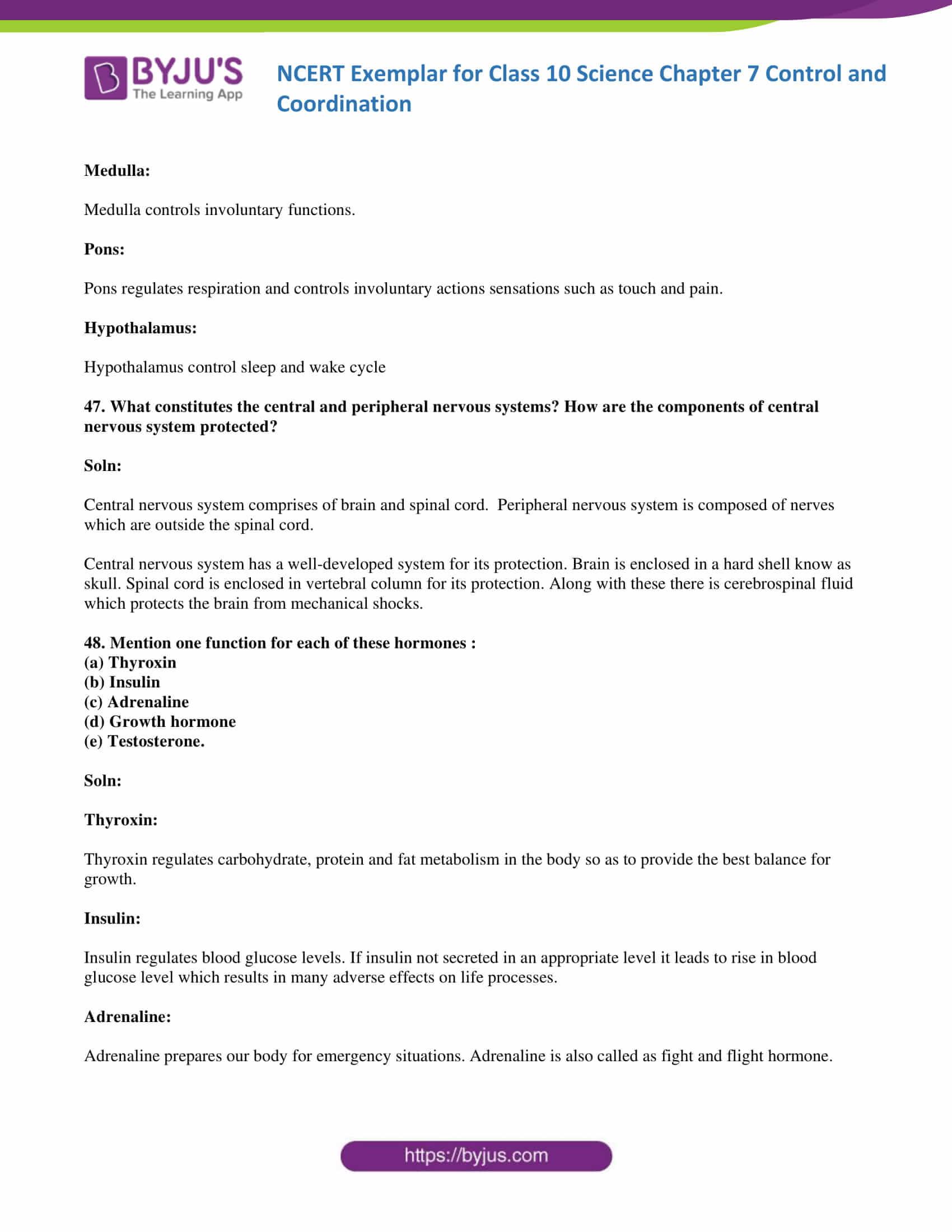 NCERT Exemplar solution class 10 Science Chapter 7 part 19