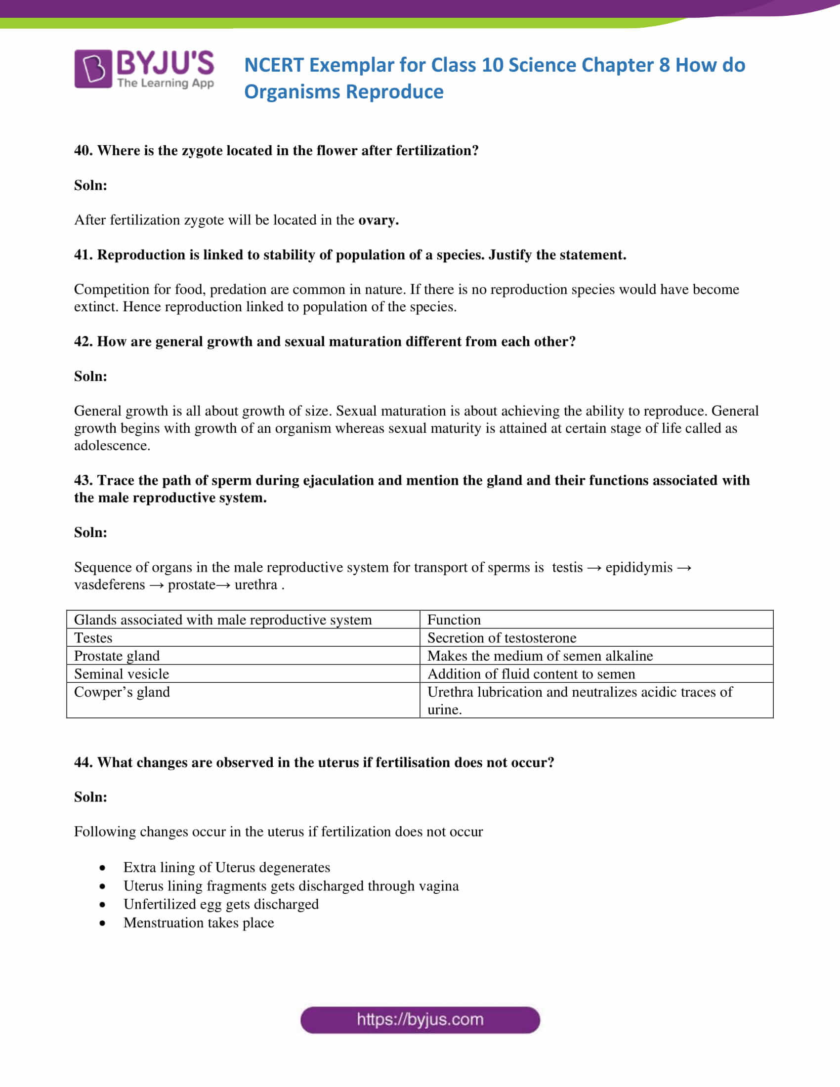 NCERT Exemplar solution class 10 Science Chapter 8 part 13