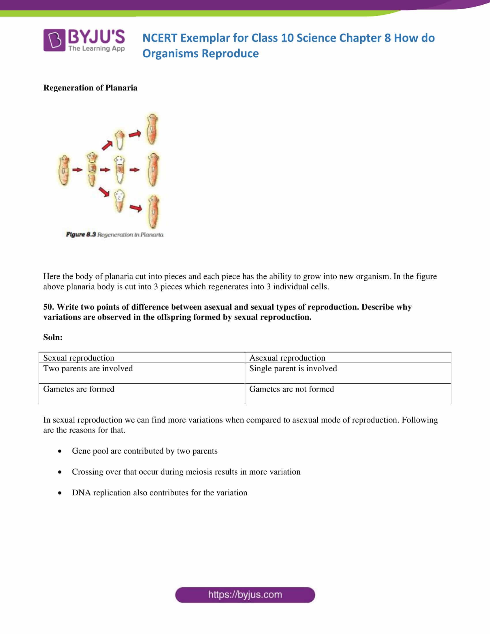 NCERT Exemplar solution class 10 Science Chapter 8 part 16